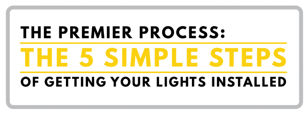 5 steps of premier outdoor lighting