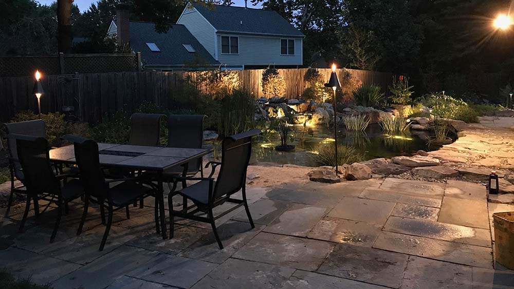 Patio Lighting In Silver Spring MD