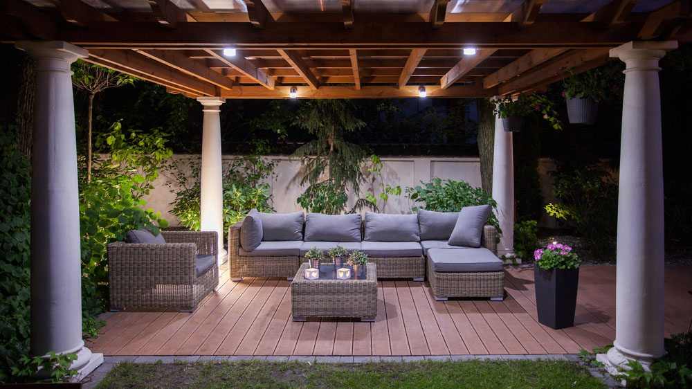 Patio Deck Lighting Services In Md Dc And Va Landscape Lighting