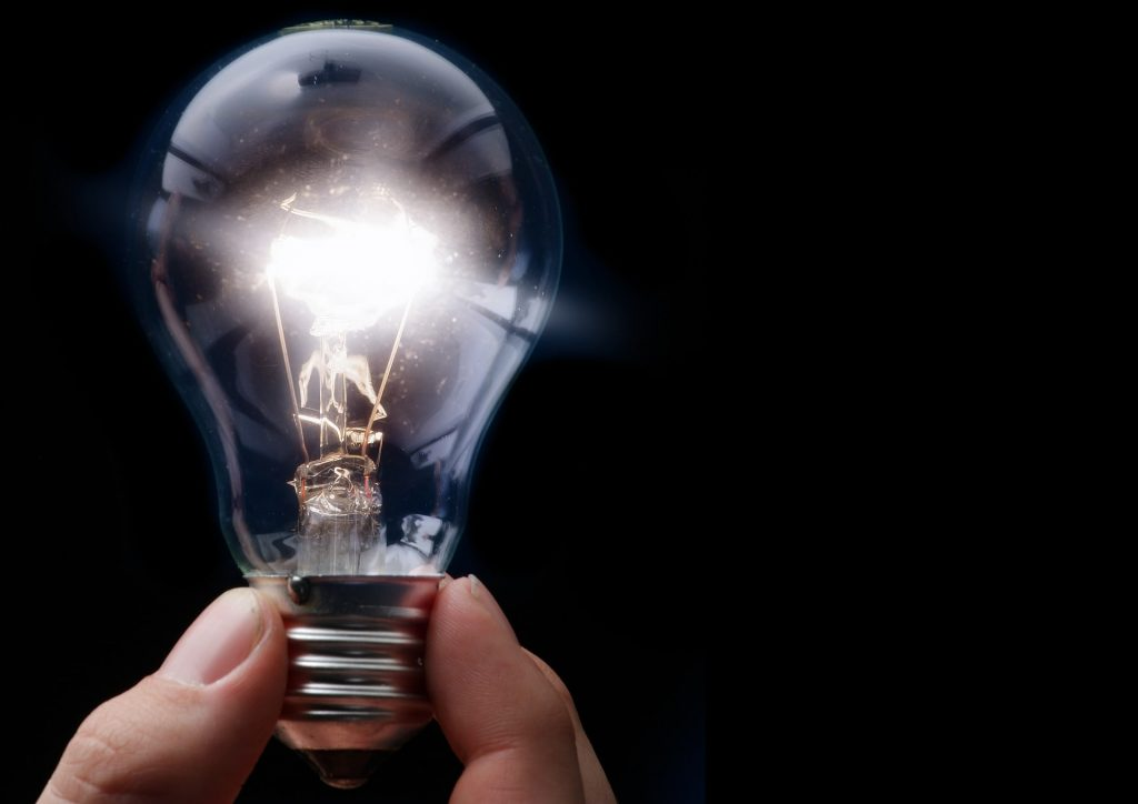 Incandescent vs LED bulbs - this is incandescent