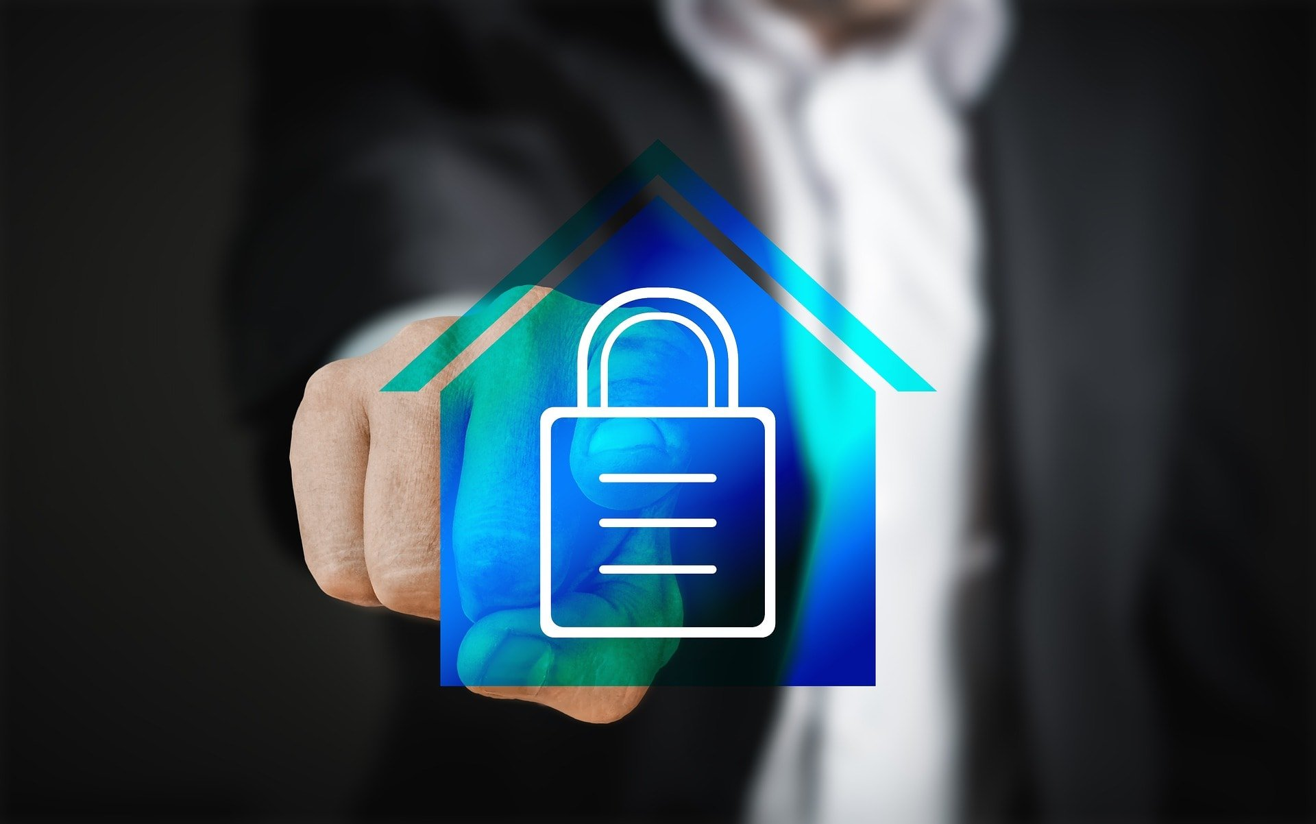 secure home graphic