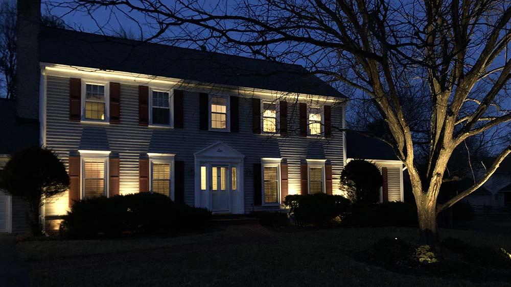 Residential Facade Lighting In Md Dc And Va Premier