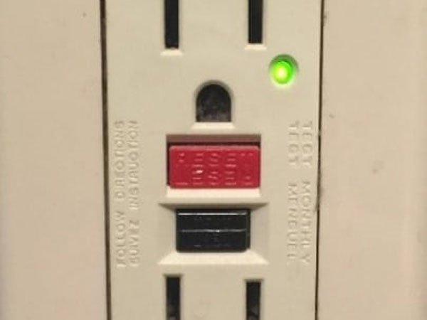 Other type of GFCI on outlet